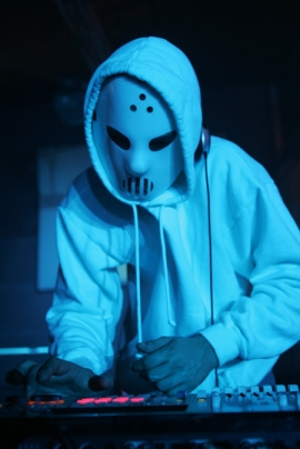 Dj Angerfist, not your average party starter
